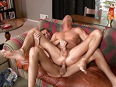 Jason Sparks and Jake Hard have splendid chemistry in this clammy scene. When Jake gently tongues Jason's butt my whole body quivered with excitement. This is the kind of sex that you set out on a Saturday night hoping for - enjoy! daddy gay movies