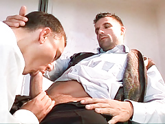 School medic Julian Vincenzo fucks his patient Philip Mclean daddy gay movies