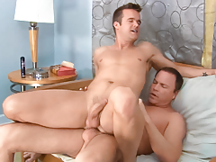 Real life BFs Connor & Jason show their lovemaking on-screen daddy gay movies