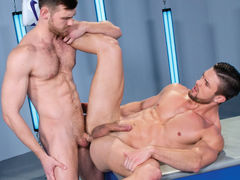 Two hot, strong stallions stand toe-to-toe and cock-to-cock. The striking Ryan Rose and irresistible Jacob Peterson fondle every other with intense passion. It's not long previous to scruffy Jacob gets to his knees and gives Ryan a spit-dripping blowjob, daddy gay movies