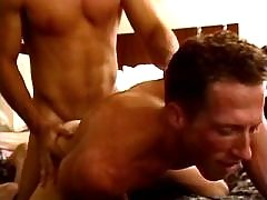 Cute blond guy gets creamy facial daddy gay movies