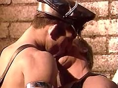 Fetish studs fuck on leather straps daddy gay movies