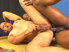 Big guys in interracial hardcore anal action in these ones daddy gay movies