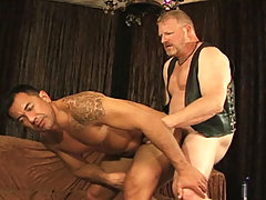 Beefy gay fucking his asian friend's butt hole after nice BJ daddy gay movies