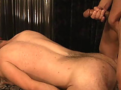 Beefy and hairy dude gets his ass fuck by that skinny guy ! daddy gay movies