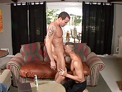 Jason Sparks is smoking the uber-sexy Steven Daigle on the couch. Sparks' joy is positive by his cheeky grin and with such hot ass on the end of your cock it's not hard to be happy. daddy gay movies