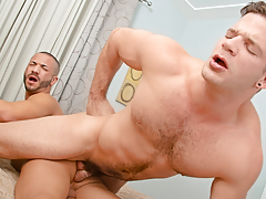 Angel, in a wild mood, pounds Mario in some crazy, fun ways! daddy gay movies