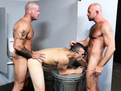 Sean's useful companion Matt has asked him for a big most like to surprise his BF Jason at the club. Matt and Sean come up with the idea of Sean waiting in the bathroom playing with his cock near the glory hole at the club Sean dances at. Matt's BF Jason daddy gay movies
