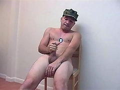 Military Man Masturbates On Chair Till Come daddy gay movies