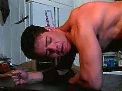 Handsome gays improve skills at BJ daddy gay movies