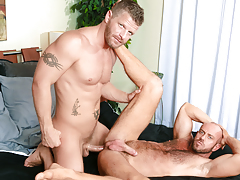 Matt's guttural moans show how that guy loves every inch of Jeremy daddy gay movies