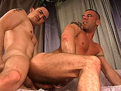 Hot Straight guy enjoying anal action with his gay friend daddy gay movies